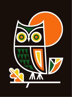 LabPartners_HappyHalloween #lab #illustration #owl #partners