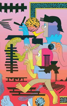 Patrick Kyle   PICDIT #design #graphic #digital #illustration #art #drawing