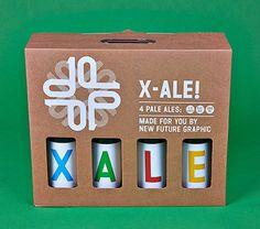 NFG X-Ale Case #packaging #beer #label