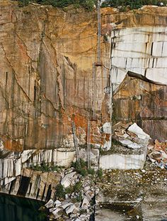 Rock of Ages #33 Abandoned Section, Rock of Ages Quarry, Vermont, USA, 1991