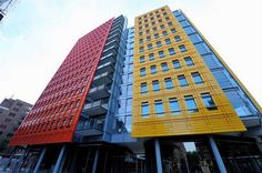 Central St Giles a modern and colorful building in London