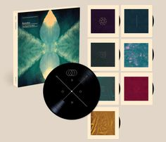 Bonobo - 'The North Borders' Boxset - Leif Podhajský #packaging #design #music #bonobo #cd