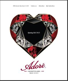 Adore Nightclub Miami #nightclub #whyworkshop #branding #advertising