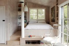 #interior #bed #white #bedroom