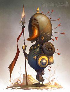 Weekend Warrior #inspiration #illustration #warrior