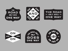 Dribbble - The Road by Dan Cassaro