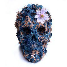 Floral Skullpture No.2 #skull