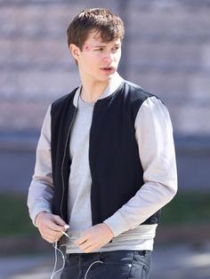 Baby Driver Ansel Elgort Unisex Varsity Jacket