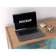 Laptop mockup on desk Free Psd. See more inspiration related to Mockup, Technology, Computer, Mobile, Laptop, Work, Web, Digital, Mock up, Desk, Modern, Tech, Open, Keyboard, Electronic, Macbook, Up, Equipment, Mock and Portable on Freepik.
