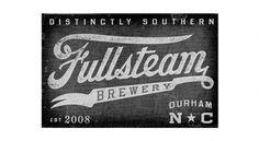Brand Identity | Fullsteam Brewery | Helms Workshop #brand #identity #typography