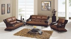Wall colours for brown sofas beige #sofa #living #furniture #brown #room