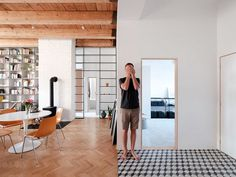 100 sqm Apartment Designed in a Former Monastery / JRKVC Architects