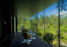 Juvet Landscape Hotel, Norway, 2008.  By Jensen & Skodvind Arkitekter.