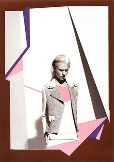 Catalogue de Paris_2 by paulobrandaomelo.com #paris #color #graphic #shapes #fashion #collage #editorial #berlin