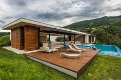 Sustainable Modern Country Home in Colombia Drawing in the Landscape