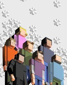 Pleix - Personal network #design
