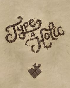 Danielle Evans: Food Type #typography
