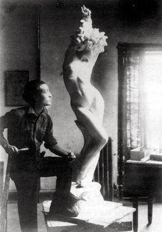 All sizes | Noguchi -- Undine (Nadja), 1925 | Flickr - Photo Sharing! #artist #architect