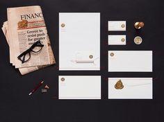 Mark Mink Personal Branding by September Industry #branding #icon #print #identity #symbol #stationery #logo