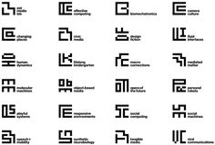 New Logo and Identity for MIT Media Lab by Pentagram #brand #symbol