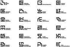 New Logo and Identity for MIT Media Lab by Pentagram #brand #symbol