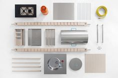Critter by Elia Mangia #modular #kitchen #minimal