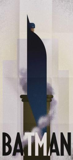 Jay Mug  Art Deco Batman