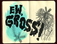 Krista Perry - Sketchbook No. 4 #illustration #sketchbook #moleskin