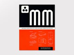 Display | Ladislav Sutnar Multi Measure Metal Enclosures Catalog | Collection #ladislav
