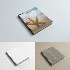 Realistic book cover mock up Free Psd. See more inspiration related to Mockup, Cover, Book, Template, Books, Book cover, Mock up, Mockups, Up, Realistic, Mock ups, Mock and Ups on Freepik.