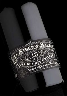 Lock Stock & Barrel on Behance #design #typography
