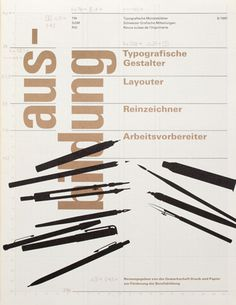 Cover from 1981 Typographische Monatsblätter issue 6