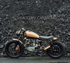 TADAOCERN CAFERACER on Behance #motorcycle #racer