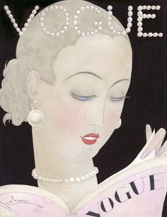 Vogue September 1926 fashion illustration by Georges Lepape #vogue #illustration #vintage #fashion #magazine