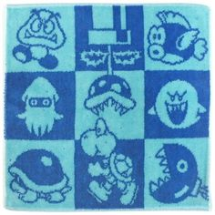 A picture of multiple old school Mario characters from the Gameboy and DS games. This inspires and brings nostalgia from when I lost my DS. #boos #nintendo #mario #goomba #chompchomp #turtle #bulletbill
