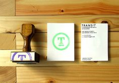 FPO: Transit Identity Collateral #typography
