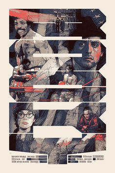 Movie Poster Illustrations by Krzysztof Domaradzki | From up North