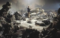 Alien (page 2) #alien #models #miniatures #design #fi #the #scenes #behind #film #sc