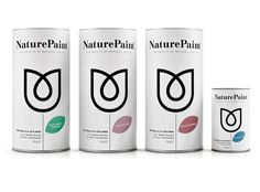 lovely package nature paint 1 #packaging #design #label