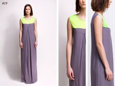 asu aksu / collections / ss2012 borderline no 19 #asu #white #collection #aksu #borderline #grey #summer #fashion #neon