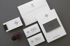 Flip | Lovely Stationery #emboss #stamp #business #card #design #graphic #identity