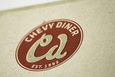 kenydesign #chevy #design #corporate #diner #logo