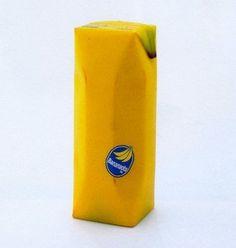 juice-bananna.jpg 380 × 400 pixels #banana #packaging #drink #fruit #juice