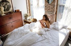 Likes | Tumblr #inspiration #sheet #white #bed