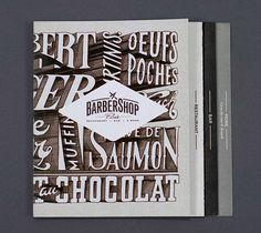 Barbershop Paris #extruded #typography
