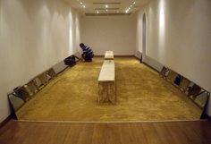 Instalación: territorio Exposición La vidente 21-27 de mayo del 2014 #installation #indigenous #armando #mirror #wayuu #territorio #vega #art #valbuena