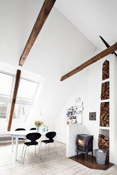 fireplace log stotage sfgirlbybay design & lifestyle blog #interior #design #decor #deco #decoration