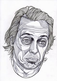Steve - Luke Dixon Artist #duke #steve #lixon #illustration #art #buscemi #sketch