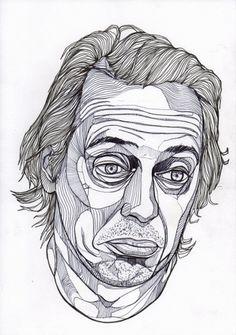 Steve - Luke Dixon Artist #duke #steve #lixon #illustration #art #buscemi #sketch