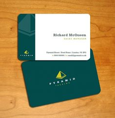 Pyramid Packing, London – Business Cards   UK Logo Design #cards #business